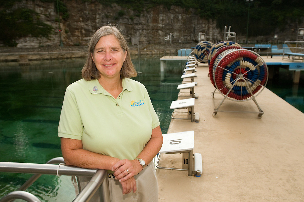 Mary Graves, photographed Thursday, Sept. 10, 2009 poolside at Lakeside Swim Club on Trevilian Way in Louisville, Ky. (Photo by Brian Bohannon)