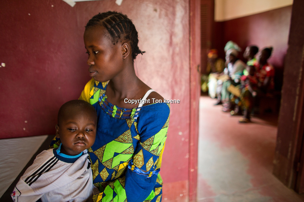 health care at the MSF OCA hospital in Bossangoa, central african republic