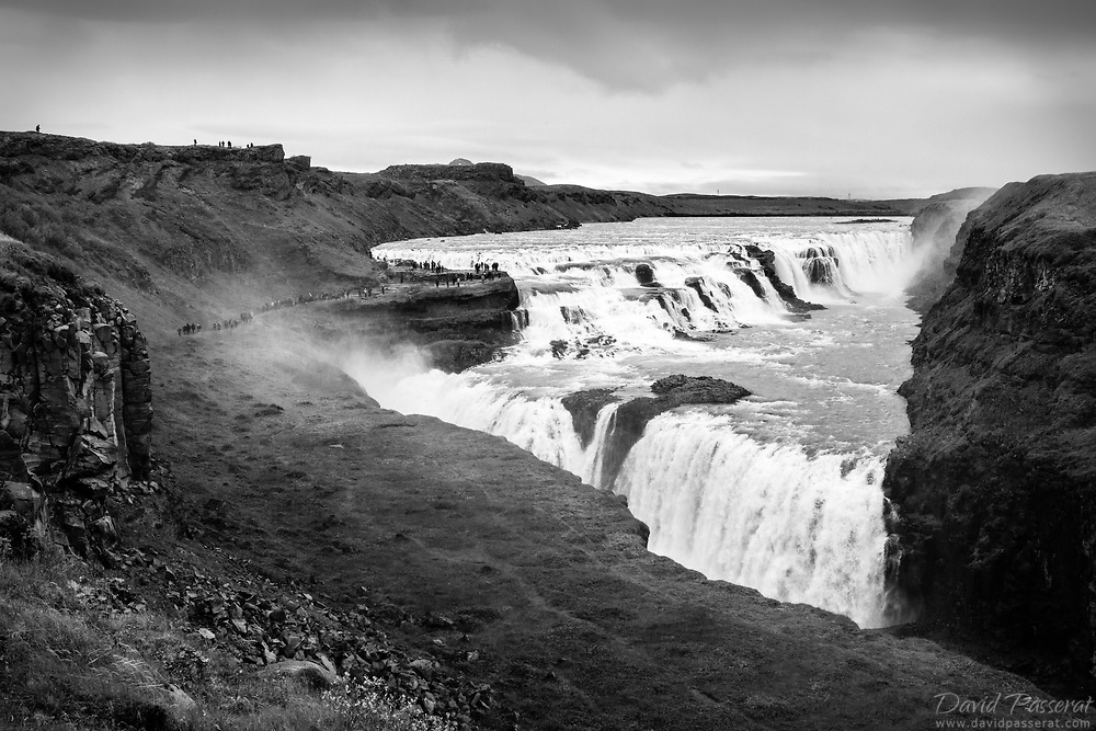 Gullfoss waterfalls.