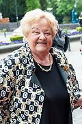 80e verjaardag van Prof. mr. Pieter van Vollenhoven in theater Figi in Zeist<br /> <br /> 80th birthday of Prof. dr. Pieter van Vollenhoven in the Figi theater in Zeist<br /> <br /> Op de foto / On the photo:   Erica Terpstra
