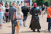 London Film and Comic Con 2014, (LFCC), at Earls Court, London, UK.