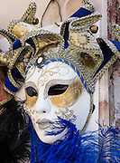 Masks have always characterized the Carnival of Venice (Carnevale di Venezia), which began by 1268 AD. The Roman Catholic festival of carnival starts on or after Epiphany and ends on Shrove Tuesday (Fat Tuesday or Martedi Grasso, 41 days before Easter, the day before Ash Wednesday). Traditionally in Venice, people were allowed to wear masks between the festival of Santo Stefano (St. Stephen's Day, December 26) at the start of the carnival season and midnight of Shrove Tuesday. As masks were also allowed during Ascension and from October 5 to Christmas, people could disguise themselves most of the year. Mask makers (mascareri) enjoyed a special position in society, with their own laws and guild. Carnival celebrations stopped after Napoleon signed the Treaty of Campo Formio in 1797 and Venice became part of the Austrian-held Kingdom of Lombardy-Venetia. Old carnival traditions didn't revive until the 1970s brought a modern mask shop to Venice. Venice and the Venetian Lagoon are honored on UNESCO's World Heritage List. Venice is in the Veneto region of Italy, Europe.