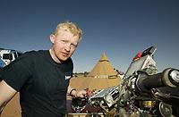 Motor - Paris Dakar 2003 - 09.01.2003<br />Pål Anders Ullevålseter fra Norge<br />Foto: Frederic Le Floc, Digitalsport
