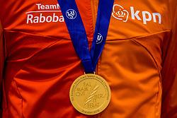 14-01-2018 DUI: ISU European Short Track Championships 2018 day 3, Dresden<br /> Gouden medaille Sjinkie Knegt NED #2, item