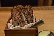 Fresh-baked bread at Semilla.