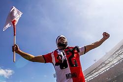14-05-2017 NED: Kampioenswedstrijd Feyenoord - Heracles Almelo, Rotterdam<br /> In een uitverkochte Kuip speelt Feyenoord om het landskampioenschap / Tonny Vilhena #10 draagt de overwinning op aan zijn overleden moeder.