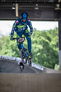 #922 (GOURC Fabien) FRA at Round 5 of the 2019 UCI BMX Supercross World Cup in Saint-Quentin-En-Yvelines, France