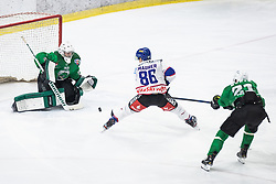 Ice hockey match between HK SZ Olimpija and EC Die Adler Kitzbühel in Round #30 of Alps Hockey League 2019/20, on January 9, 2020, in Hala Tivoli, Ljubljana, Slovenia. Photo By Grega Valancic / Sportida
