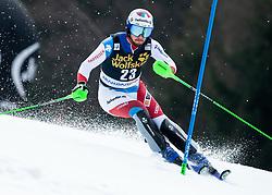 AERNI Luca of Switzerland during the Audi FIS Alpine Ski World Cup Men's Slalom 58th Vitranc Cup 2019 on March 10, 2019 in Podkoren, Kranjska Gora, Slovenia. Photo by Matic Ritonja / Sportida