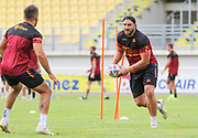 Picture by Laurent Selles/Catalans Dragons/via SWpix.com - 10/07/2020 Rugby League Betfred Super League 2020<br /> Back in training. Catalans Dragons' Julian Bousquet back in training today at Stade Gilbert Brutus, Perpignan - France after the long lay off due to Coronavirus Covid 19 Pandemic