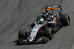 Nico Hulkenberg (GER) Sahara Force India F1  <br /> 11.11.2016. Formula 1 World Championship, Rd 20, Brazilian Grand Prix, Sao Paulo, Brazil, Practice Day.<br /> Copyright: Charniaux / XPB Images / action press