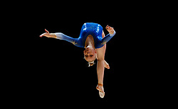 Sweden's Jessica Castles on the beam during day one of the 2018 European Championships at The SSE Hydro, Glasgow. PRESS ASSOCIATION Photo. Picture date: Thursday August 2, 2018. See PA story SPORT European. Photo credit should read: John Walton/PA Wire. RESTRICTIONS: Editorial use only, no commercial use without prior permission
