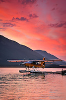 DeHavilland Turbo Otter at Muncho Lake. BC
