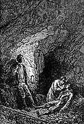 The last Drop of Water from the book ' A journey to the centre of the earth ' by Jules Verne (1828-1905) Published in New York by Charles Scribner's Sons, 1905