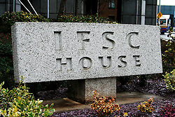 The International Financial Services Centre in Dublin Ireland. Ireland's finance portal for International Financial Services. © London News Pictures 10/01/2011..Irish Prime Minister Brian Cowen is under pressure over his relationship with former Anglo Irish Bank chairman Sen FitzPatrick. Anglo Irish Bank was taken into state ownership in January 2009 and is the largest contributor of assets to the Irish National Asset Management Agency. Picture caption should read Simon Lamrock/LNP