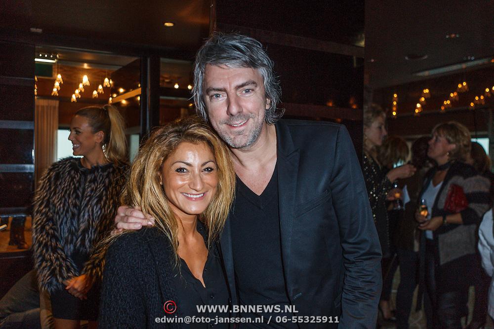 NLD/Amsterdam/20131101 - Lancering Danie Bles Style Guide 2013, Ruud de Wid en partner Aafke Burggraaf