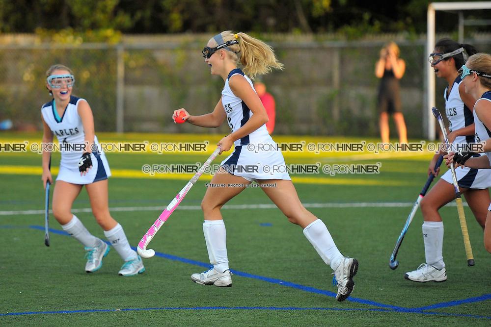 Staples High School Field Hockey..Staples ties New Canaan 2-2..Megan O'Shea .Josie Fair