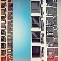 Color - Geometric Abstraction Distraction