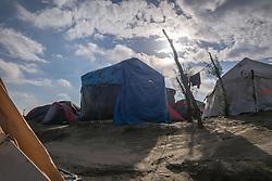 October 1, 2016 - Calais, France - Life conditions in the Jungle of Calais. Calais in Setques, France on October 1 ,2016. (Credit Image: © Julien Mattia/NurPhoto via ZUMA Press)