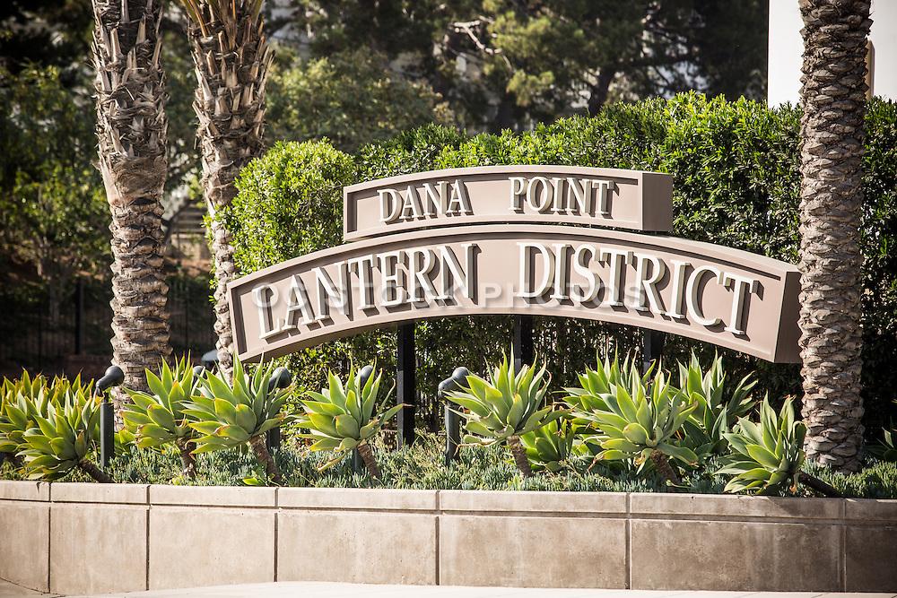 New Dana Point Lantern District Town Center Signage