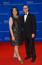 Tammy Haddad (L) arrives for the White House Correspondents' Association (WHCA) dinner in Washington, D.C., on Saturday, April 29, 2017 (Photo by Riccardo Savi)  *** Please Use Credit from Credit Field ***