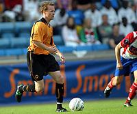 Fotball<br /> Treningskamp<br /> 21.07.2004<br /> FC Lyn Oslo v Wolverhampton 2-1<br /> Foto: Morten Olsen, Digitalsport<br /> <br /> Jody Craddock - Wolves