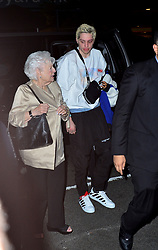 Pete Davidson escorts Ariana's grandmother, Marjorie Grande to a VMA's after-party. 20 Aug 2018 Pictured: Pete Davidson, Marjorie Grande, Ariana Grande. Photo credit: MEGA TheMegaAgency.com +1 888 505 6342