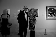 Sir Anthony and Lady Tennant, Millais exhibition opening and Dinner. Tate Gallery. 24 September 2007. -DO NOT ARCHIVE-© Copyright Photograph by Dafydd Jones. 248 Clapham Rd. London SW9 0PZ. Tel 0207 820 0771. www.dafjones.com.