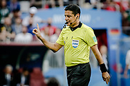 Referee's Alireza Faghani during the 2018 FIFA World Cup Russia, Group F football match between Germany and Mexico on June 17, 2018 at Luzhniki Stadium in Moscow, Russia - Photo Thiago Bernardes / FramePhoto / ProSportsImages / DPPI