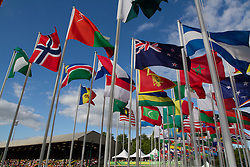international array of flags