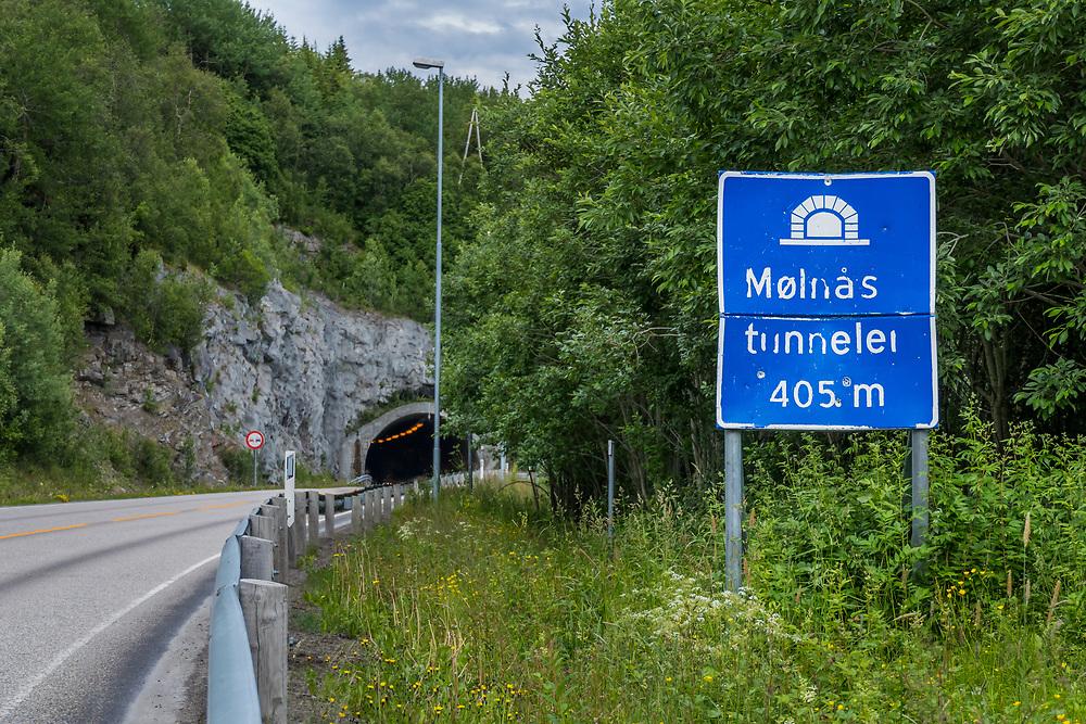 Mølnåstunnelen er en 415 meter lang veitunnel i Harstad kommune i Troms. Den er en del av riksvei 83.