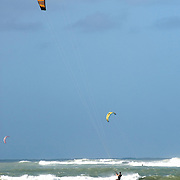 Kite Surfing in Maui, Hawaii