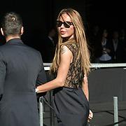 Primo giorno della settimana della moda a Milano edizione 2011: Nina Moric alla sfilata di John Richmond <br /> <br /> First day of Milan Fashion  Week 2011 edition: Nina Moric at the John Richmond fashion show.