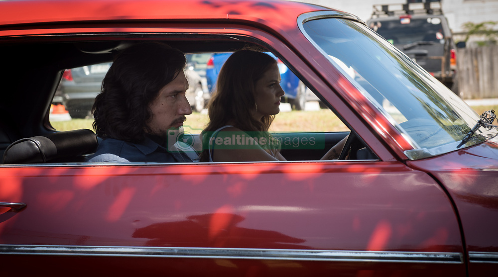 RELEASE DATE: August 18, 2017 TITLE: Logan Lucky STUDIO: Trans-Radial Pictures DIRECTOR: Steven Soderbergh PLOT: Two brothers attempt to pull off a heist during a NASCAR race in North Carolina. STARRING: RILEY KEOUGH as Mellie Logan and ADAM DRIVER as Clyde Logan. (Credit Image: © Trans-Radial Pictures/Entertainment Pictures/ZUMAPRESS.com)