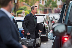 © Licensed to London News Pictures. 13/05/2021. London, UK. Former British Prime Minister DAVID CAMERON is seen at his London home. David Cameron is due to give evidence to a treasury select committee later in relation to his lobbying of Ministers for the now collapsed Greensill Capital group. Photo credit: Ben Cawthra/LNP