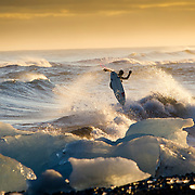 """First trip for new Globe movie """"Strange Rumblings in Shangrala"""" to Iceland, October, 2012"""