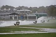 Waves wash over seawall damage during Hurrican Noel, Kings Park Beach, Newport
