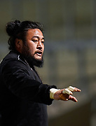 Newcastle Falcons Prop  Logovi'i Mulipola during a Gallagher Premiership Round 12 Rugby Union match, Friday, Mar 05, 2021, in Eccles, United Kingdom. (Steve Flynn/Image of Sport)