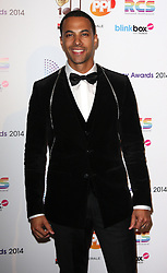 MARVIN HUMES arrives for the Radio Academy Awards, London, United Kingdom. Monday, 12th May 2014. Picture by i-Images