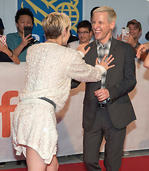 Director Justin Kelly and actor Kristen Stewart attends a red carpet for the movie Jeremiah Terminator Leroy during the 2018 Toronto International Film Festival in Toronto, ON, Canada on Saturday, September 15, 2018. Photo by Fred Thornhill/CP/ABACAPRESS.COM