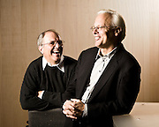 Craig Mundie & Ray Ozzie, @ Microsoft offices