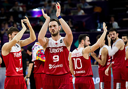 Semih Erden of Turkey after the basketball match between National Teams of Spain and Turkey at Day 11 in Round of 16 of the FIBA EuroBasket 2017 at Sinan Erdem Dome in Istanbul, Turkey on September 10, 2017. Photo by Vid Ponikvar / Sportida