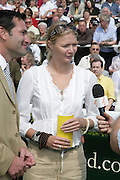 Jodie Kidd, Glorious Goodwood. 31 July 2007.  -DO NOT ARCHIVE-© Copyright Photograph by Dafydd Jones. 248 Clapham Rd. London SW9 0PZ. Tel 0207 820 0771. www.dafjones.com.