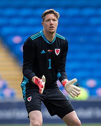 CARDIFF, WALES - Saturday, June 5, 2021: Wales' goalkeeper Wayne Hennessey during an International Friendly between Wales and Albania at the Cardiff City Stadium in their game before the UEFA Euro 2020 tournament. (Pic by David Rawcliffe/Propaganda)