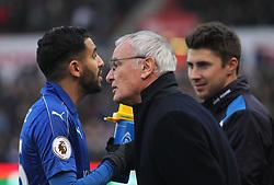 Leicester City manager Claudio Ranieri (R) - Mandatory by-line: Jack Phillips/JMP - 17/12/2016 - FOOTBALL - Bet365 Stadium - Stoke-on-Trent, England - Stoke City v Leicester City - Premier League