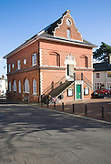 Sixteenth century Shire Hall building 1575 built by Thomas Seckford, Woodbridge, Suffolk, England