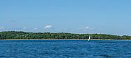 Boat Sailing, Shelter Island, Long Island, NY