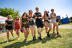 Fans in the main arena on Friday 29th June at TRNSMT 2018.