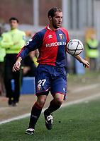 """Christian Stellini (Genoa)<br /> Italian """"Serie B"""" 2006-07<br /> 03 Mar 2007 (Match Day 26)<br /> Genoa-Lecce (1-0)<br /> """"Luigi Ferraris""""-Stadium-Genova-Italy<br /> Photographer: Luca Pagliaricci INSIDE"""