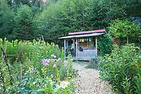 Revolution Gardens on hwy 53 near Nehalem, Oregon.